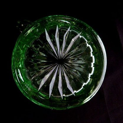 Depression Green Glass Creamer by US Glass