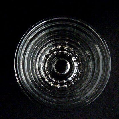 Manhattan Clear Glass Rayed Bottom Relish Insert