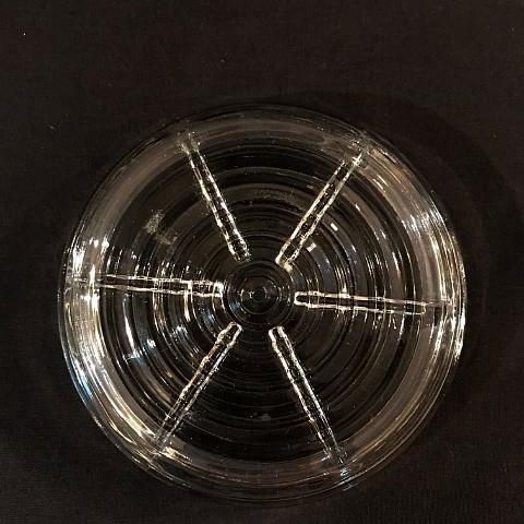 Manhattan Clear Glass Coaster