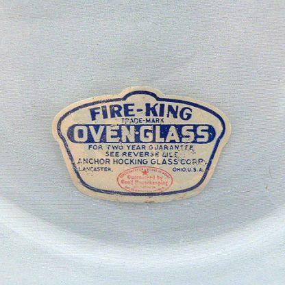 Fire King Blue Casserole