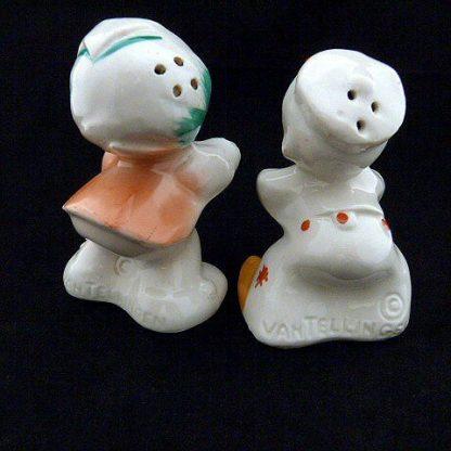 Dutch Girl and Boy Salt & Pepper Shakers