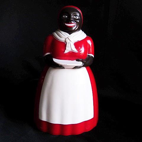 Buy this vintage Black Americana cookie jar by F & F Mold & Die Works.