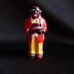 Vintage Black America Mose Pepper Shaker
