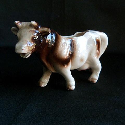 Vintage Ceramic Cow Creamer