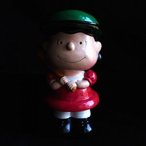 Vintage Lucy Peanuts Baseball Bank