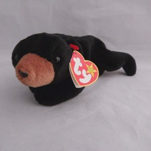 Vintage Blackie Bear Beanie Babie