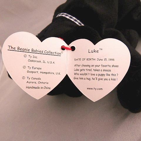Vintage Luke Beanie Baby