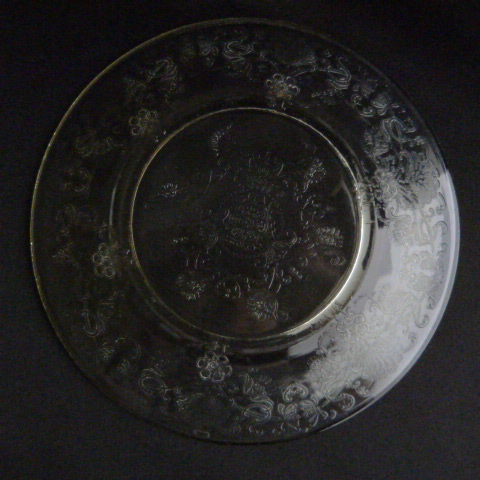 Yellow Depression Glass Bread & Butter Plate