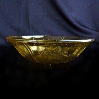 Vintage Depression Glass Fruit Bowl