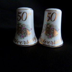 Ceramic Salt/Pepper Shakers