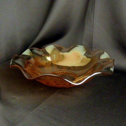 Iris & Herringbone Fruit Bowl