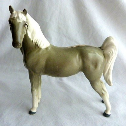 Ceramic American Saddle Souvenir