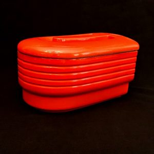 Hall Westinghouse Line Red Refrigerator Jar