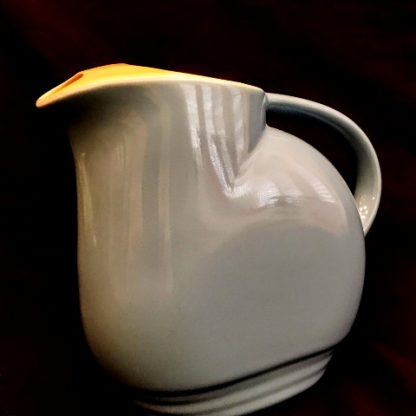 Hall Westinghouse Line Blue/Yellow Pitcher