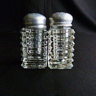 Manhattan Glass Salt and Pepper Shakers