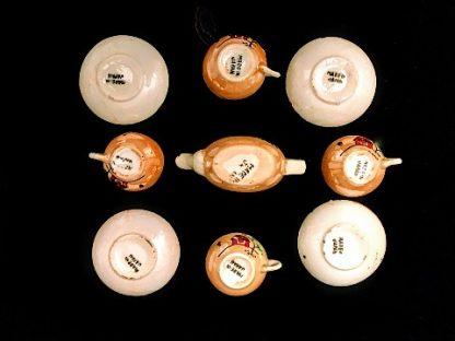 Vintage 9 Piece Miniature Tea Set